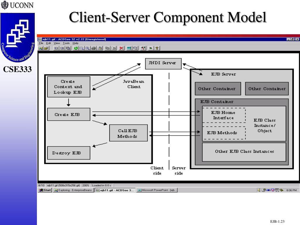 Client-Server Component Model
