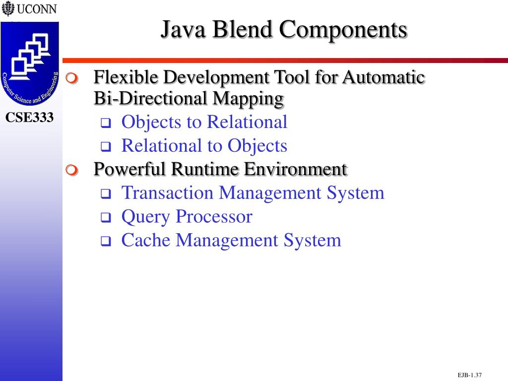 Java Blend Components