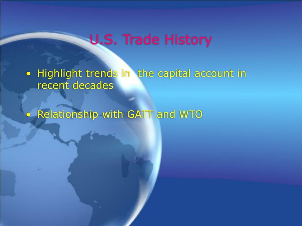 U.S. Trade History