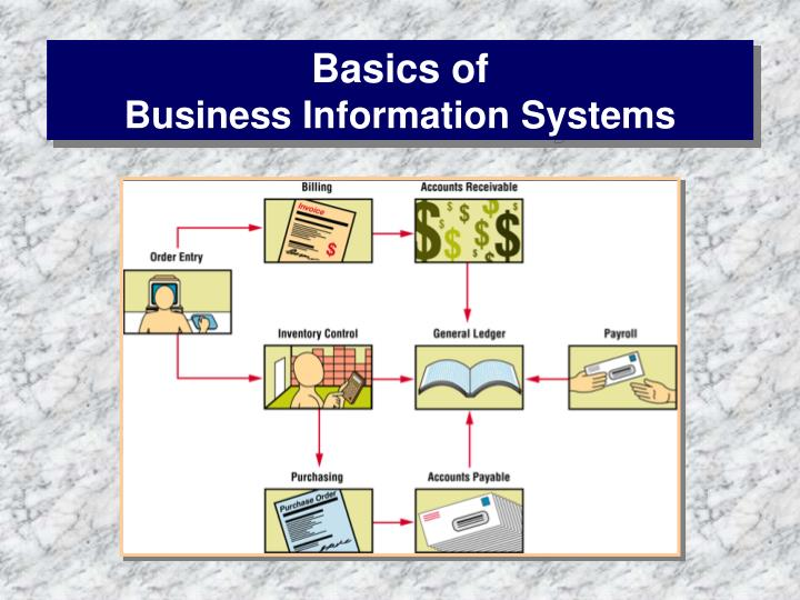 Basics of business information systems