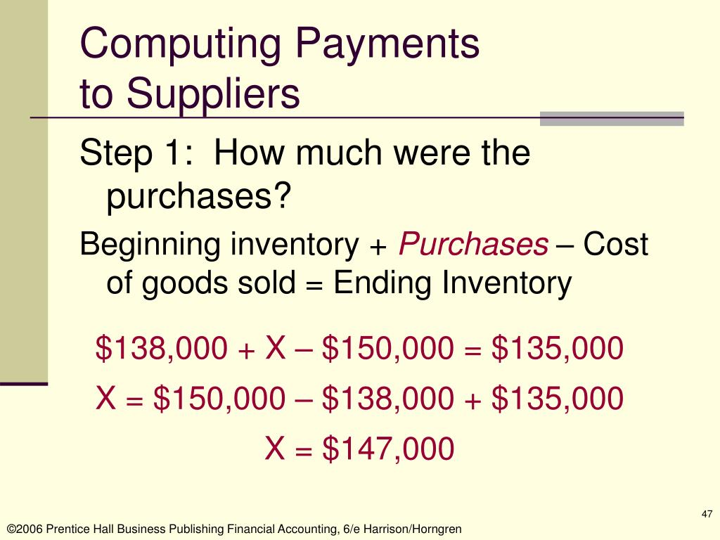 Computing Payments