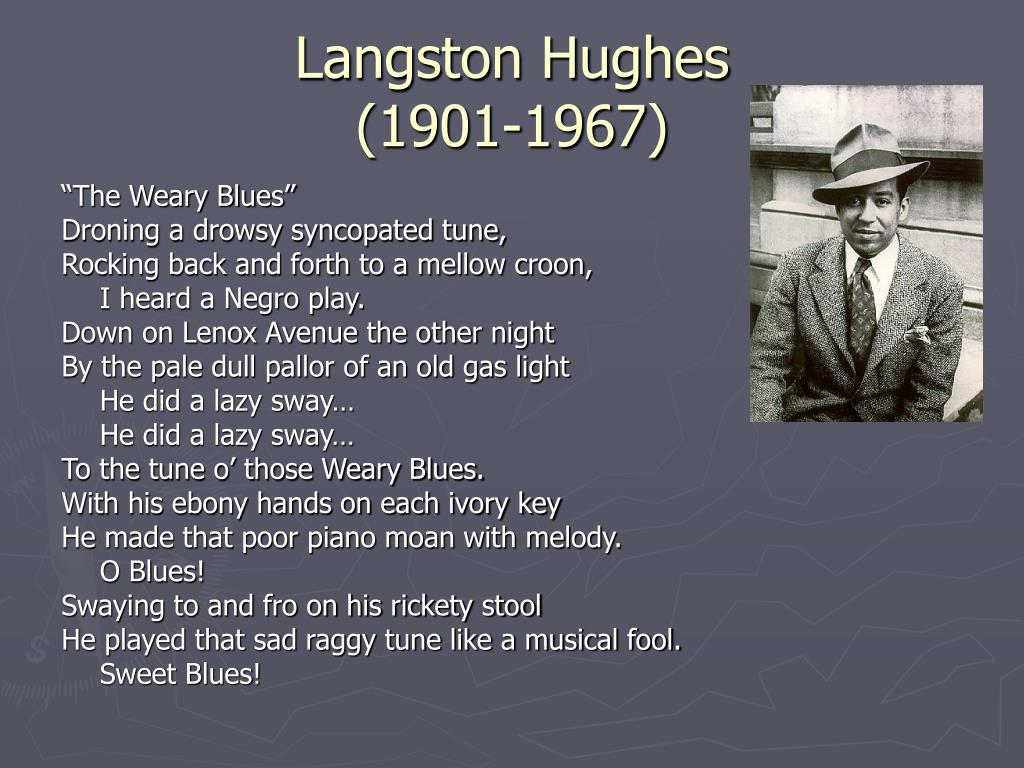 The Weary Blues - Poem by Langston Hughes