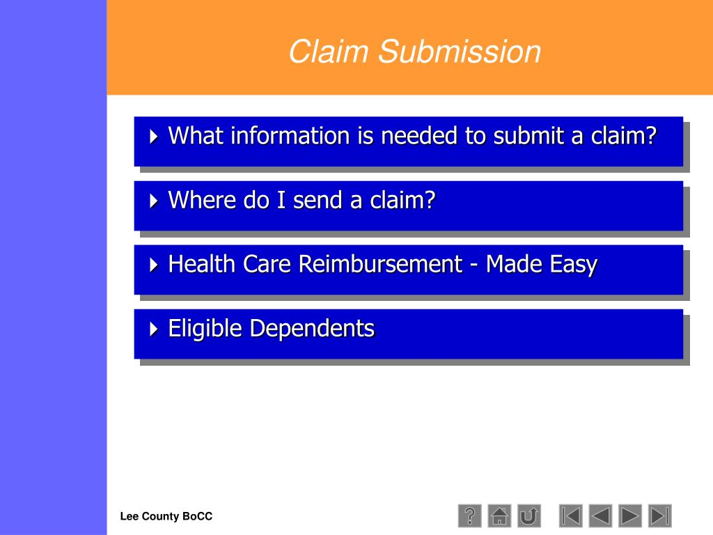 Claim Submission