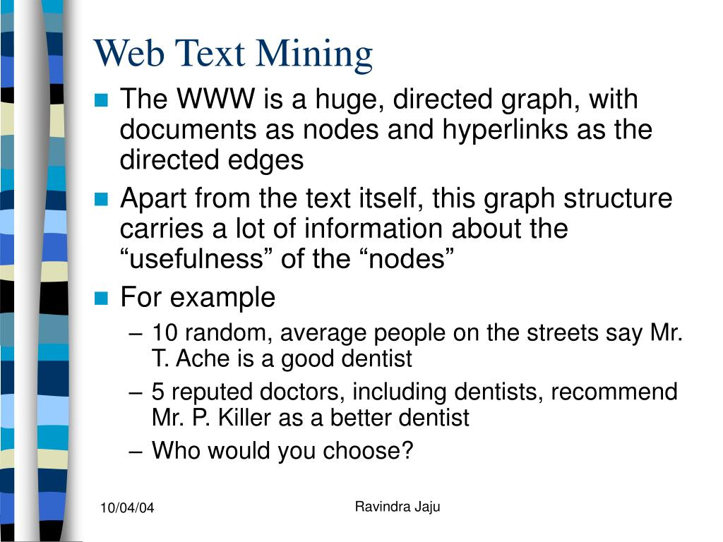 Web Text Mining