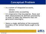 conceptual problem