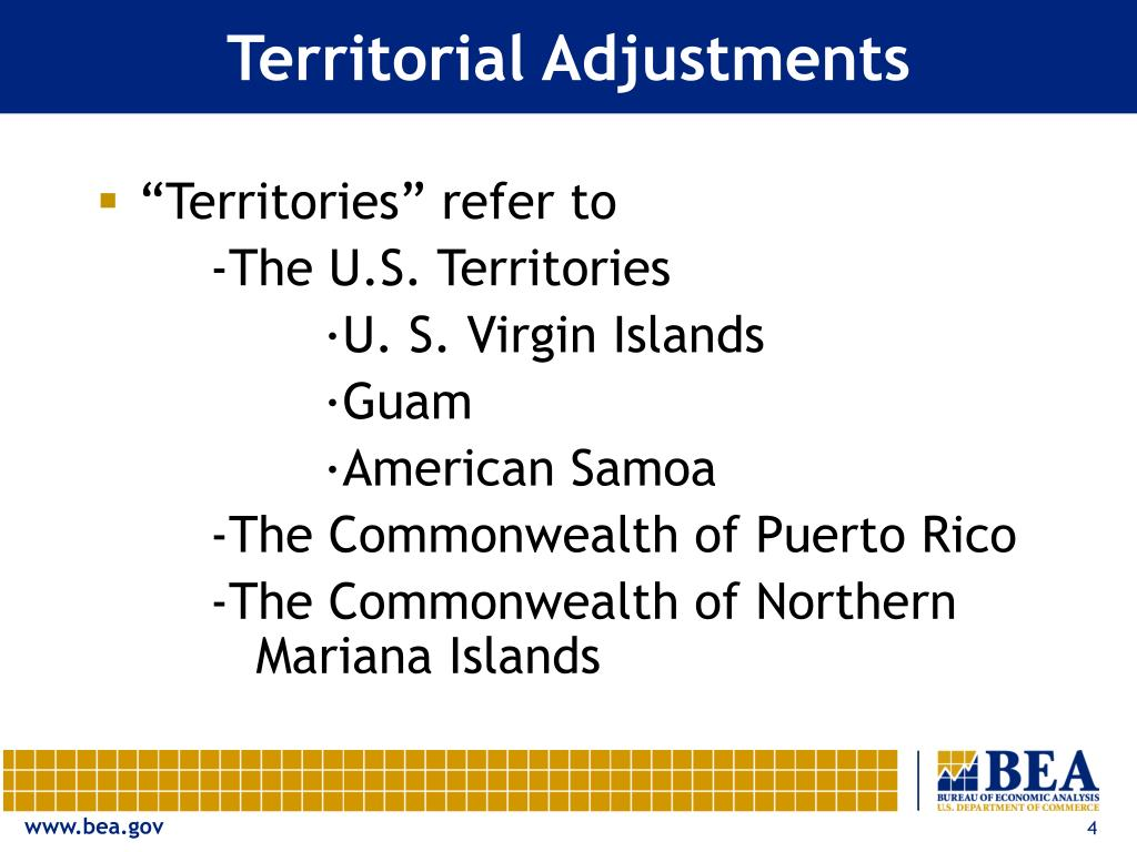 Territorial Adjustments