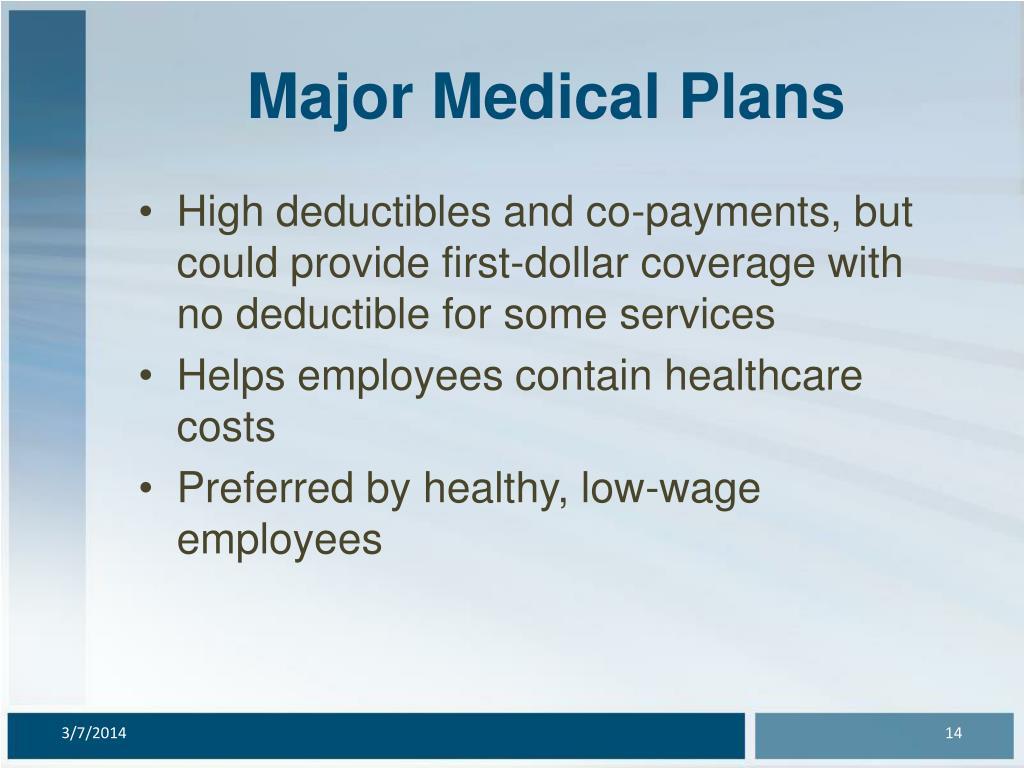 Major Medical Plans