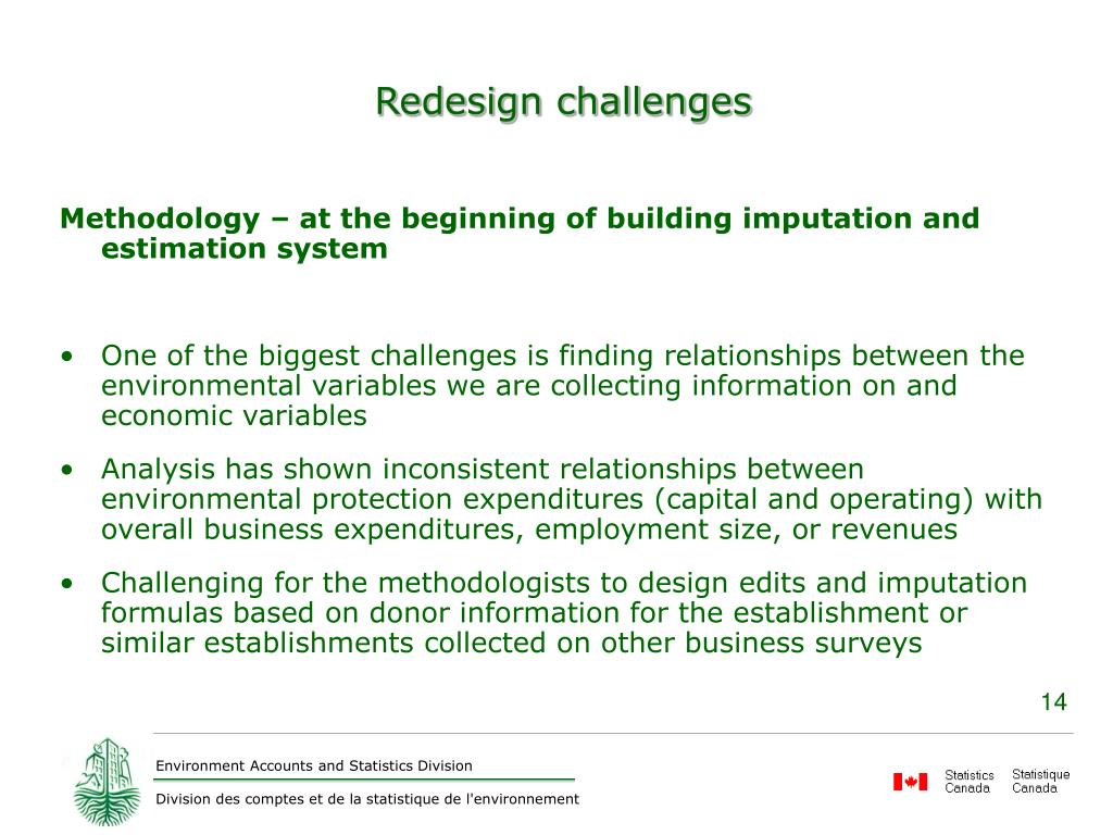 Redesign challenges