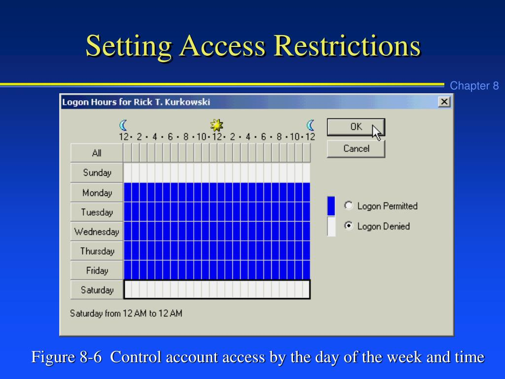 Setting Access Restrictions