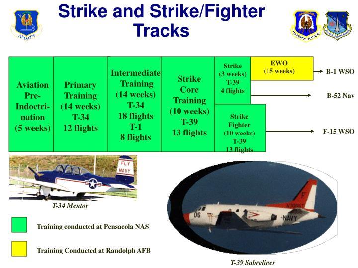 Strike and Strike/Fighter Tracks