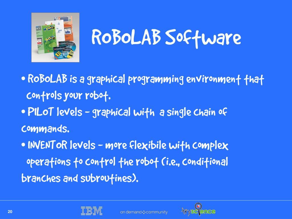 ROBOLAB Software