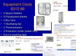 equipment costs 312 89