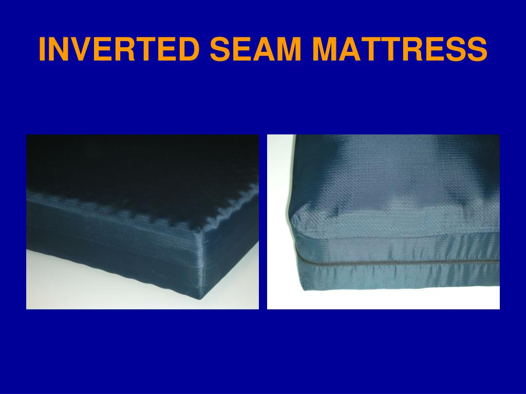 INVERTED SEAM MATTRESS