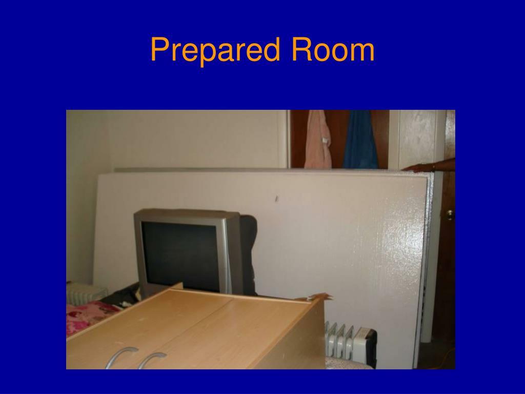 Prepared Room