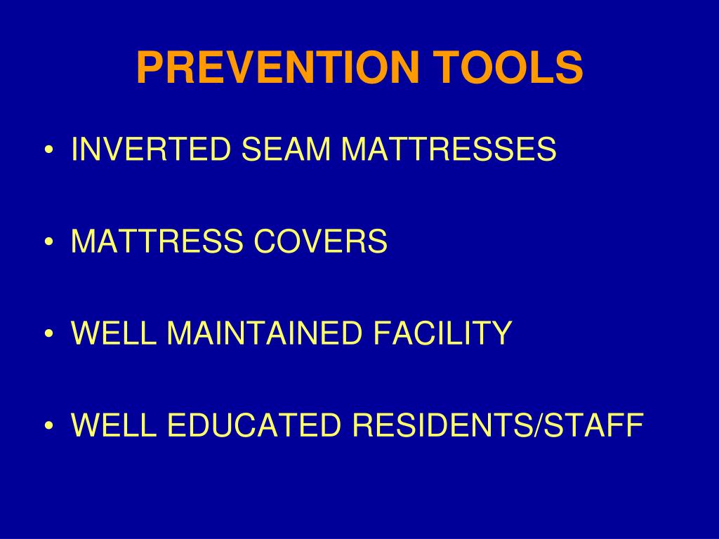 PREVENTION TOOLS