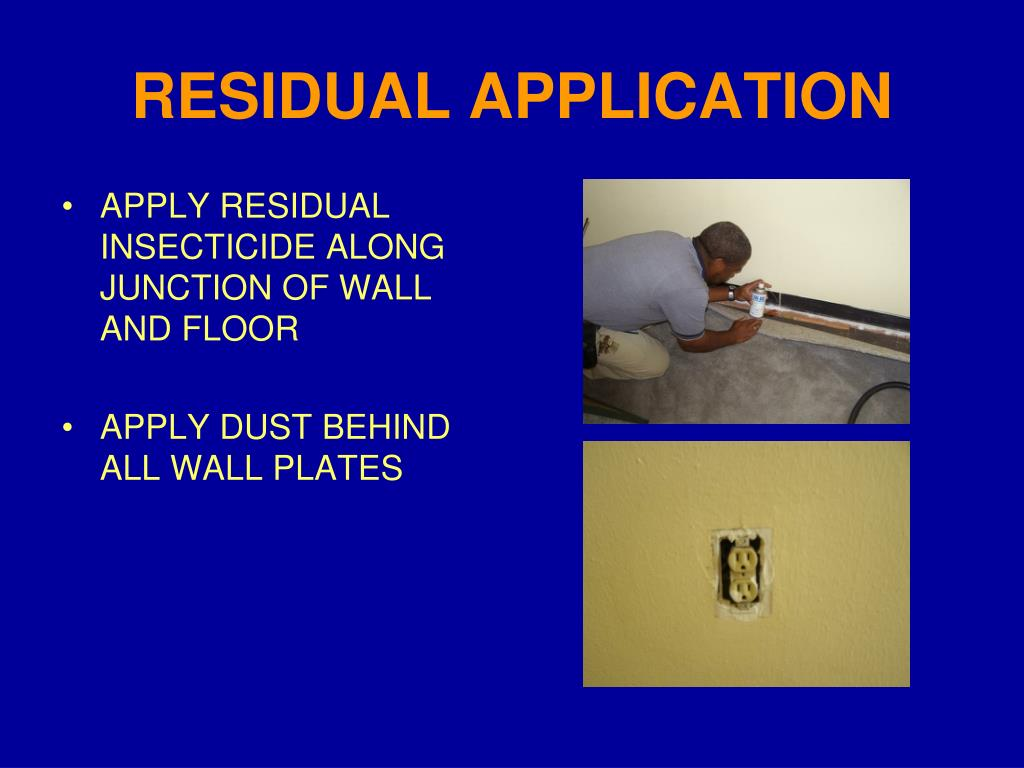 RESIDUAL APPLICATION