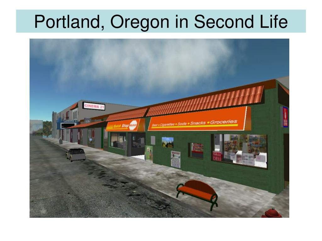Portland, Oregon in Second Life