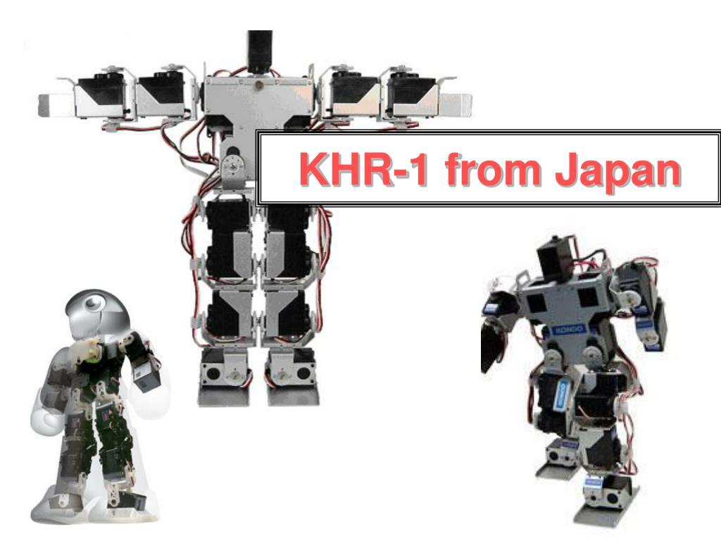 KHR-1 from Japan