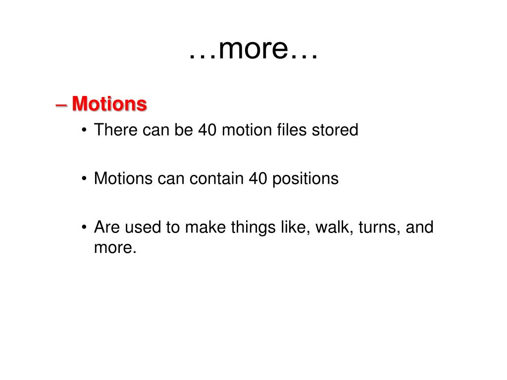 …more…