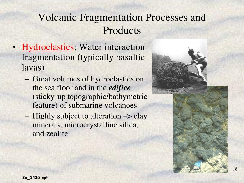 Volcanic Fragmentation Processes and Products