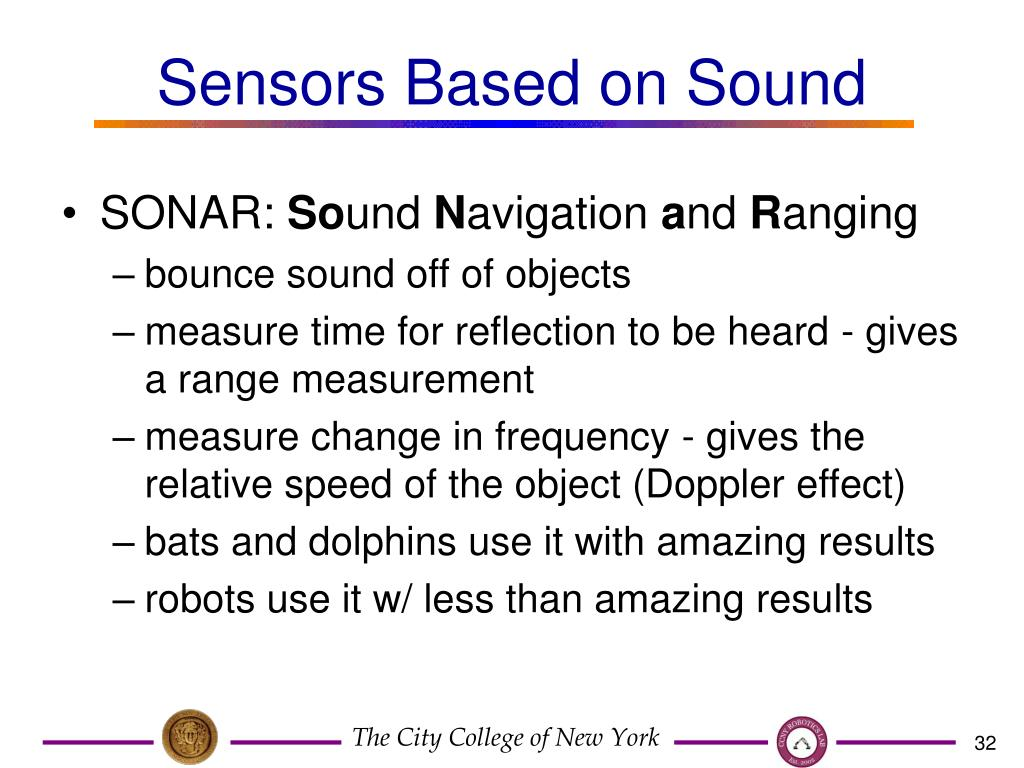 Sensors Based on Sound