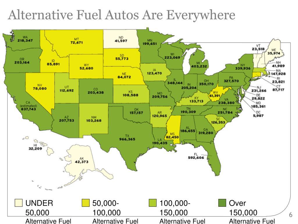 Alternative Fuel Autos Are Everywhere