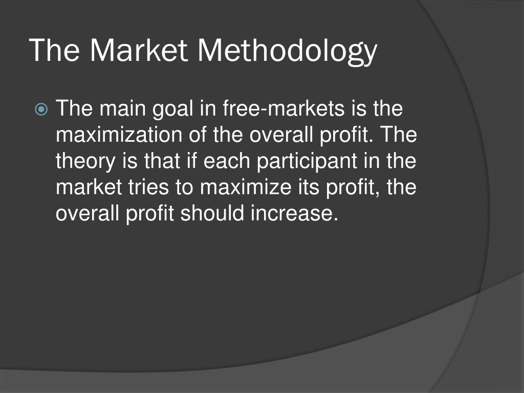 The Market Methodology