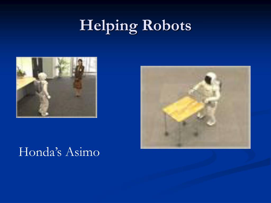 Helping Robots