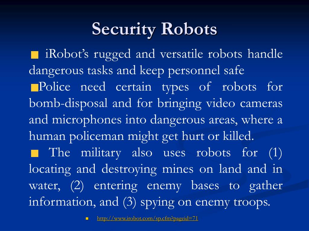 Security Robots