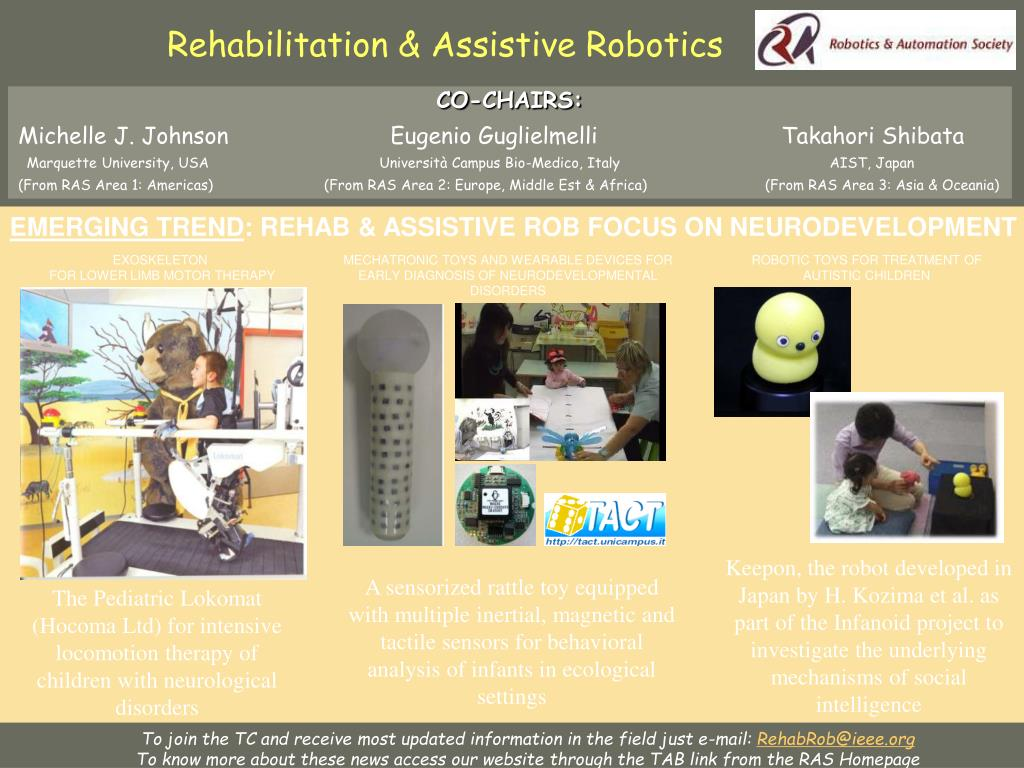 Rehabilitation & Assistive Robotics