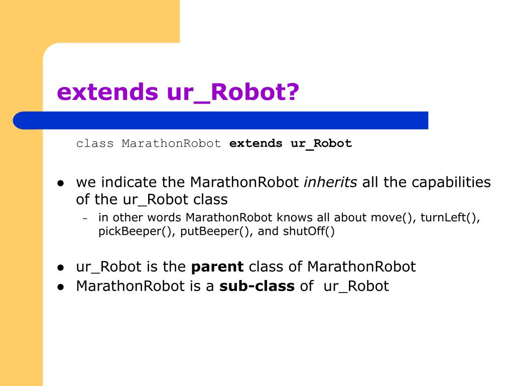 extends ur_Robot?