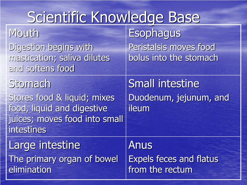 Scientific Knowledge Base