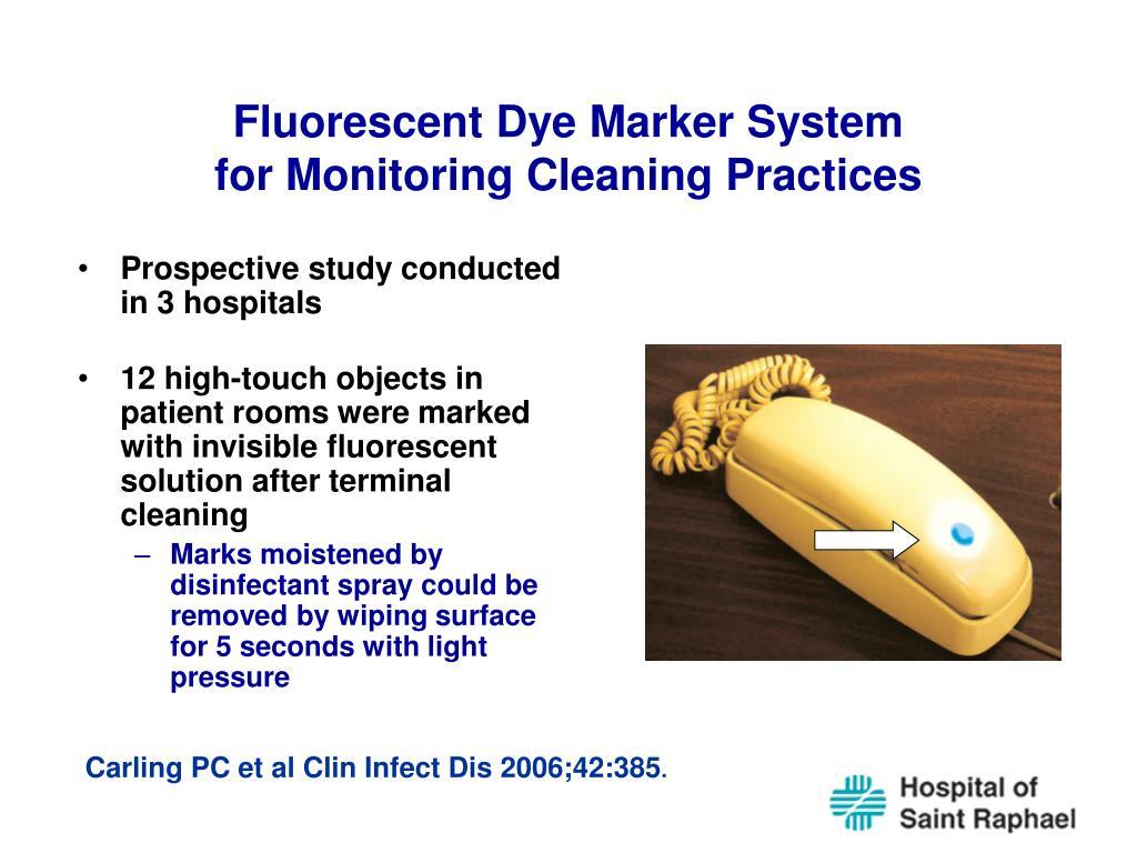 Fluorescent Dye Marker System