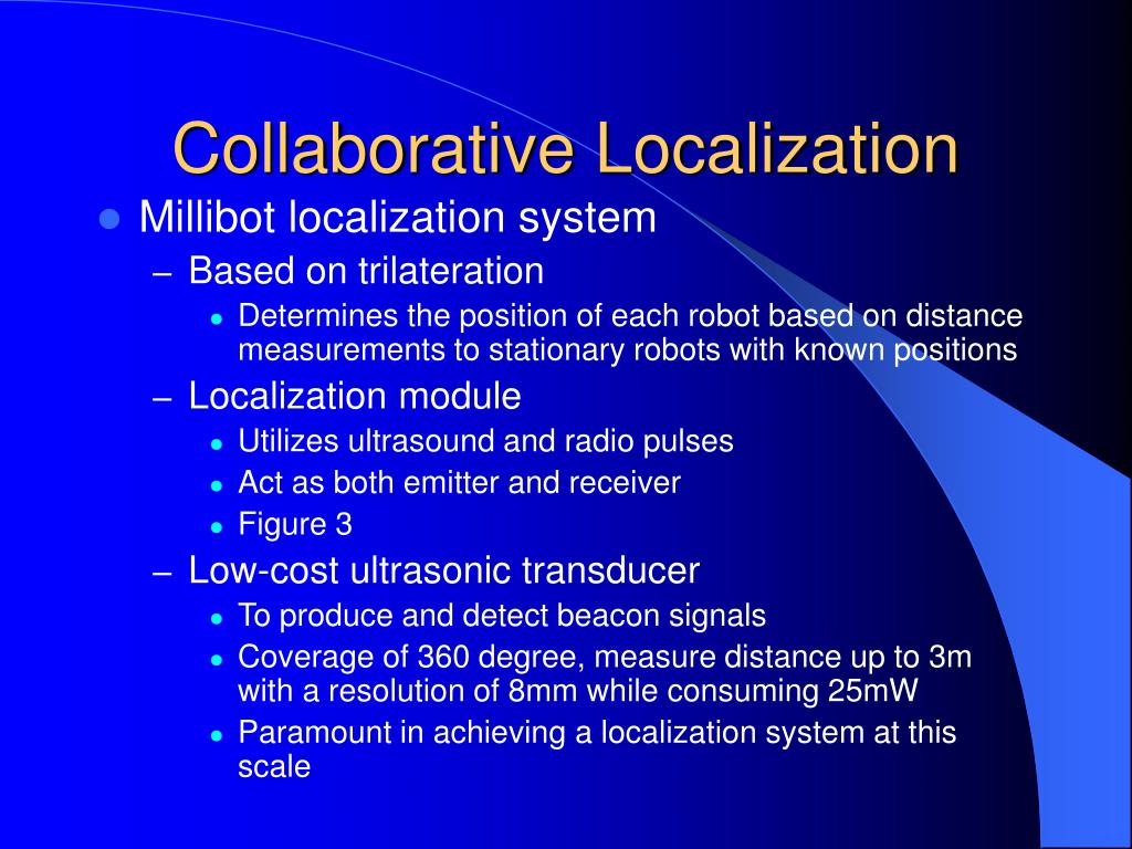 Collaborative Localization