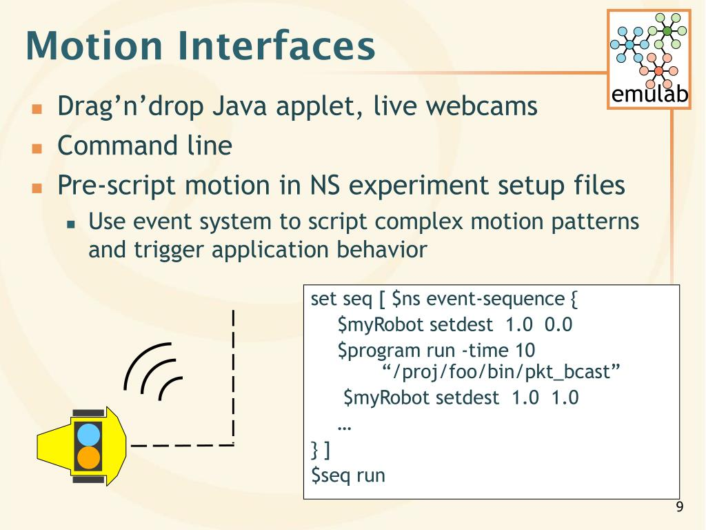 Motion Interfaces