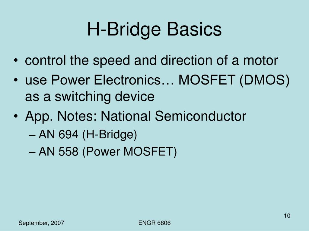 H-Bridge Basics