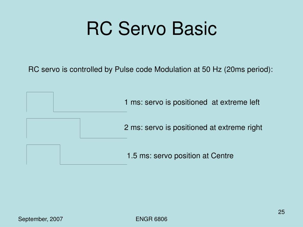 RC Servo Basic