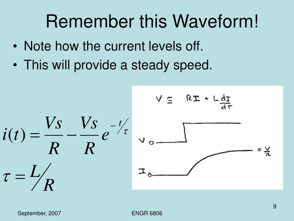 Remember this Waveform!
