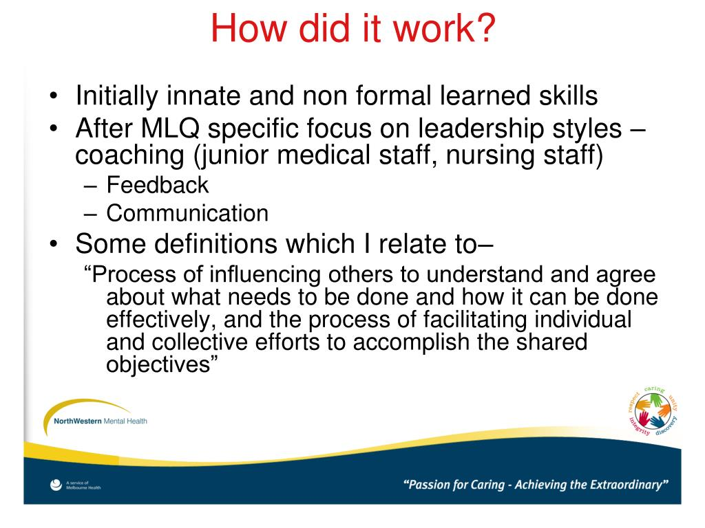 Initially innate and non formal learned skills