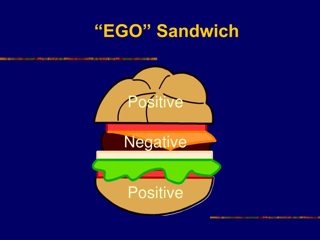 """""""EGO"""" Sandwich"""