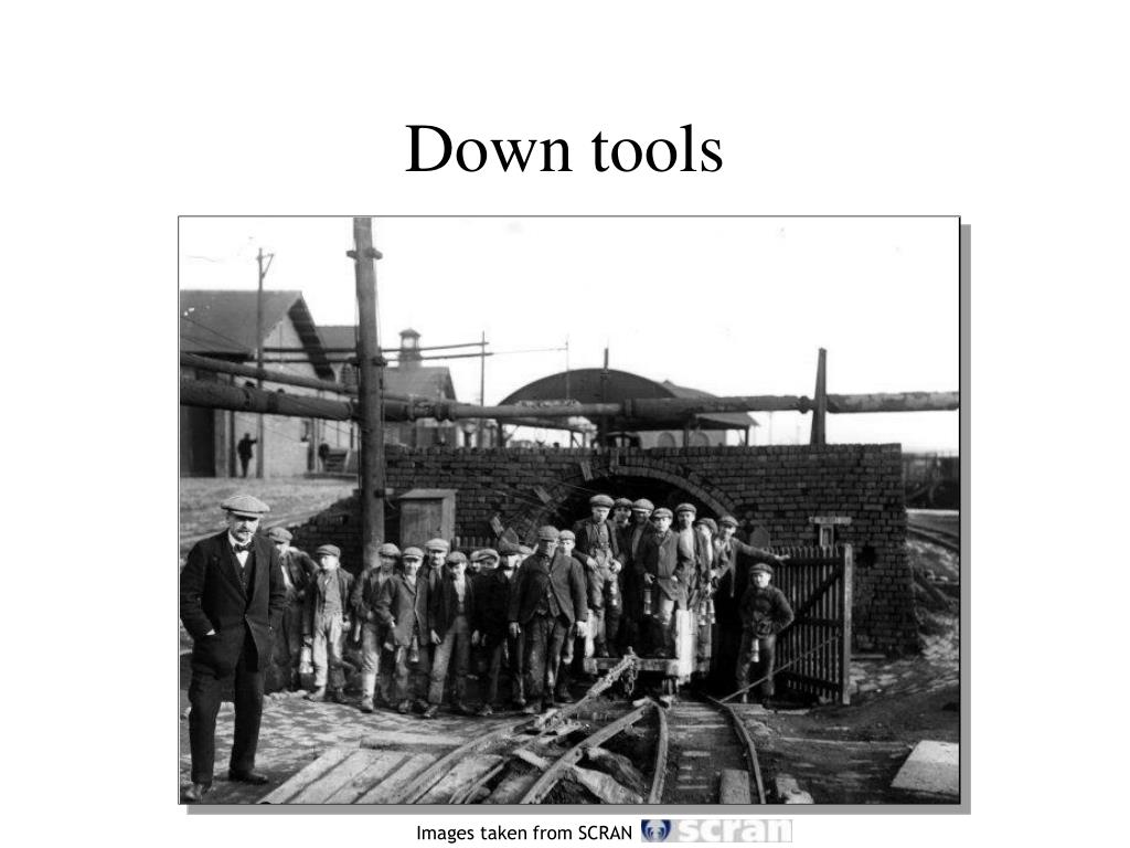 Down tools