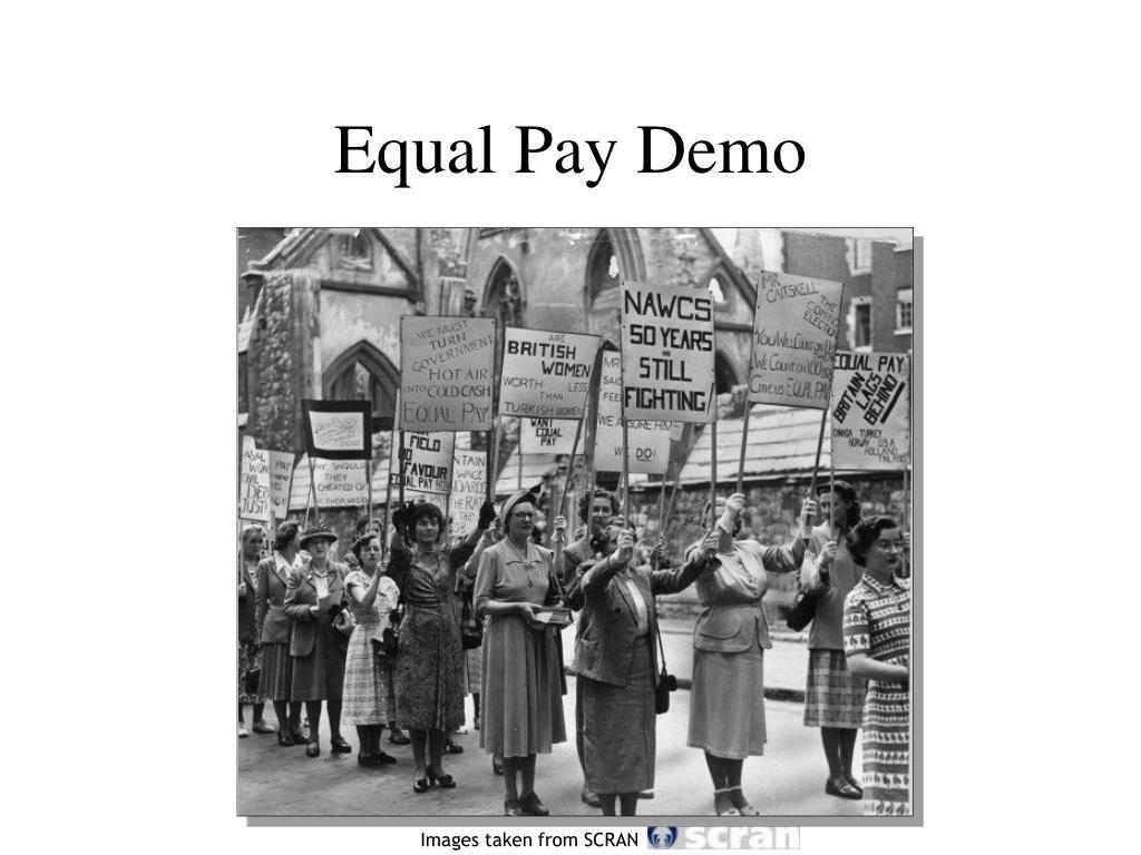Equal Pay Demo