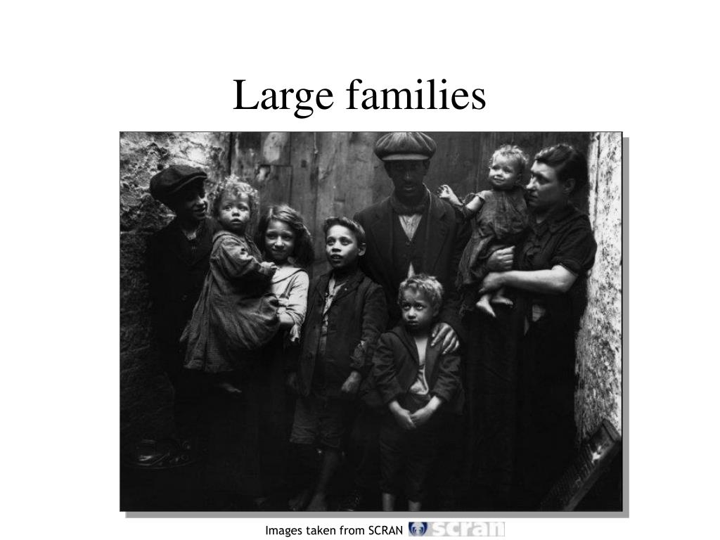 Large families