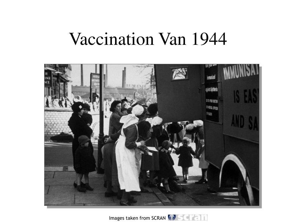 Vaccination Van 1944