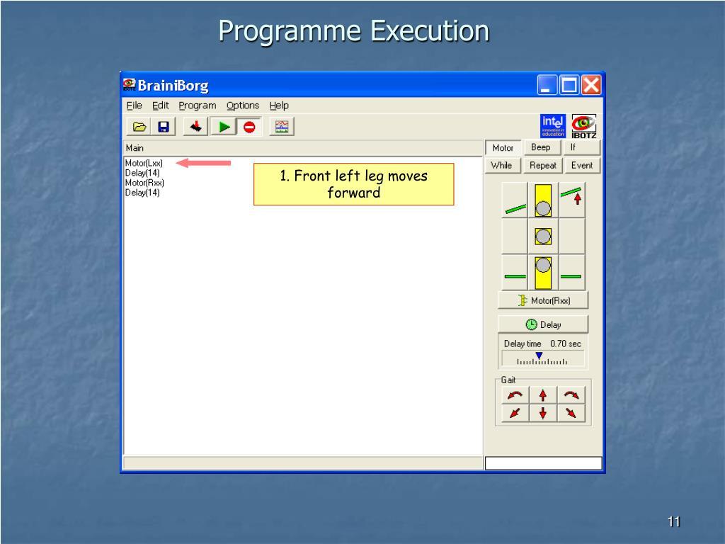 Programme Execution