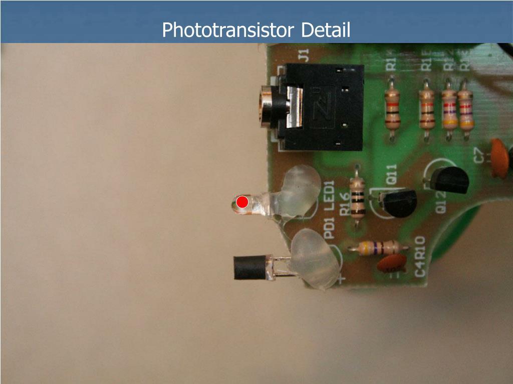 Phototransistor Detail