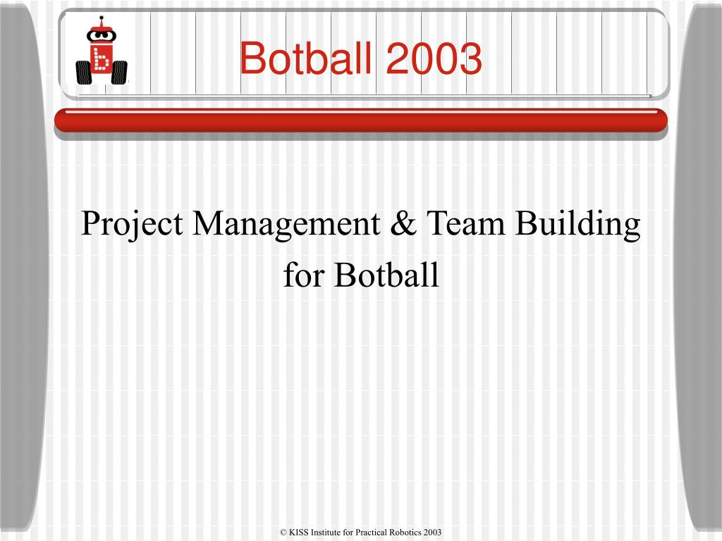Project Management & Team Building