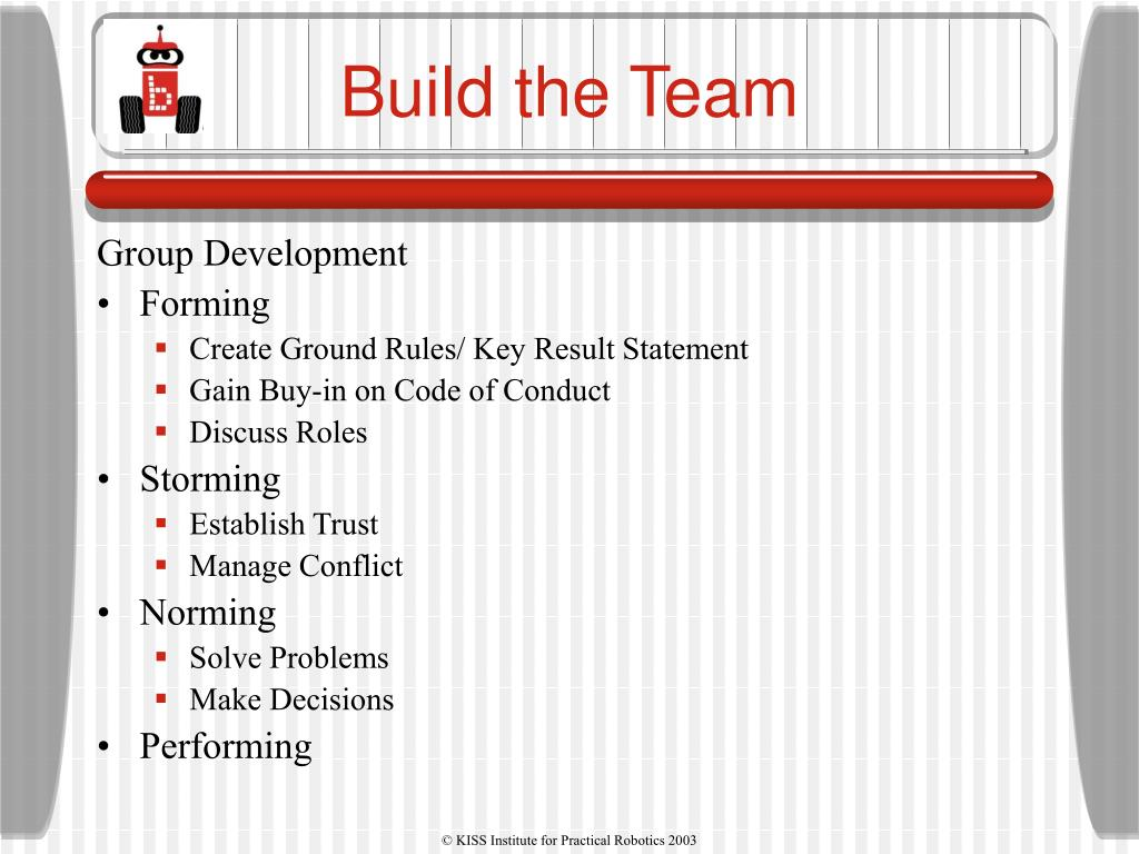 Build the Team