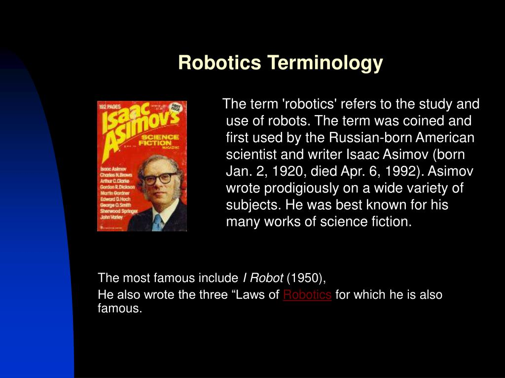 Robotics Terminology