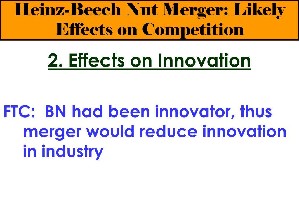 Heinz and beech nut case